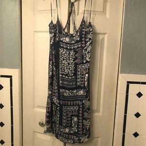 Zara Trafaluc Light spaghetti string dress